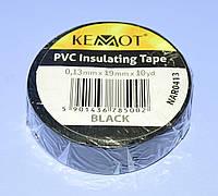 Изолента ПВХ Kemot 0,13x19x10Y (10 ярдов) черная  NAR0413