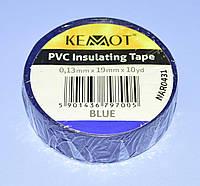 Изолента ПВХ Kemot 0,13x19x10Y (10 ярдов) синяя  NAR0431