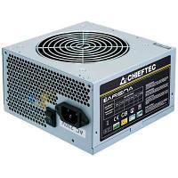 Блок питания Chieftec 450W (GPA-450S8) ATX2.2 (24+4), CE, TUV, 1fan 12см, активна PFC, OEM