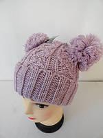 Недорогие женские вязанные шапки