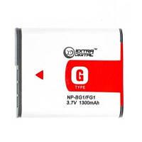 Аккумулятор к фото/видео Sony Sony NP-BG1 (DV00DV1199) EXTRADIGITAL, 1300mAh, Sony NP-BG1, Sony NP-FG1, Sony Cyber-shot DSC-H10, Sony Cyber-shot