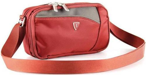 """Стильная сумка для планшета 5"""" полиэстер Sumdex PJA-678PR красный"""