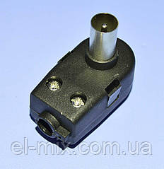 Штекер TV для блока питания антенного (сепаратор) 1-0542