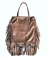 Женская сумка Laura Biaggi (4756 gold) leather