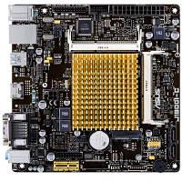 Материнская плата ASUS J1800I-C_ CPU Celeron J1800 Core)_ 2xDDR3 SO-DIMM_ VGA-HDMI_ Com port_ mITX (J1800I-C)