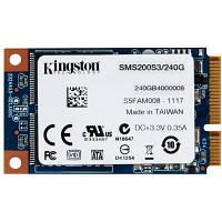 Дисковый флеш накопитель SSD mSATA Kingston SMS200 240GB (SMS200S3/240G)