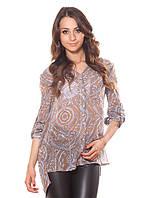 Слегка прозрачная женская блуза