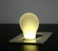 Светодиодные карточки карманные фонари, светодиодный фонарик. портативный в Кошелек