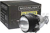 "Би-ксеноновые линзы Moonlight Ultimate + 50% LIGHT G5 2,5"" (⌀64мм) H1, маски стандарт"