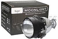 "Биксеноновые линзы Moonlight SUPER G5 2,5"" (⌀64мм) H1, маски стандарт"