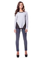 Женская блузка c прозрачной спиной (в размере 2XL), фото 1