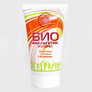 «БиоАнальгетик Жизни» Универсальный крем-гель для тела с БИОФЕНОМ
