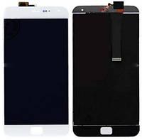 Дисплей (экран) + сенсор (тач скрин) MEIZU MX4 Pro 5.5 white (оригинал)