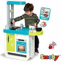 Интерактивная кухня Cherry Blue со звуком и аксессуарами Smoby (310900)