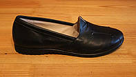 Туфли женские кожаные на низком ходу, туфли женские кожаные от производителя модель НТ2, фото 1