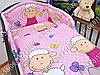 """Детское постельное белье в кроватку """"Бим Бом"""" комплект 7 ед. (баранчик фиолетовый), фото 4"""