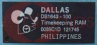 Энергонезависимая ОЗУ DALLAS DS1643-100+ DIP28