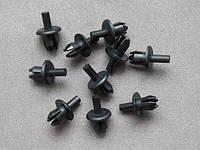 Заклёпка с распорной втулкой пластиковая расширяющаяся (тюльпан, пистон, крепление, клип, клипс, клипса, фиксатор, крепеж, крепежный элемент) для