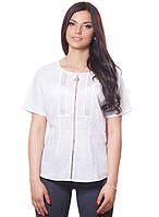 Великолепная стильная женская блузка с коротким рукавом, фото 1