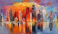 «Вечерний Нью-Йорк» картина маслом