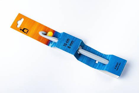 Пластиковый крючок для вязания 8 мм, Pony