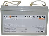Аккумулятор гелевый Logicpower LP-GL 12V 100AH, фото 1