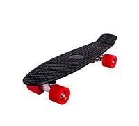 Скейт Пенни борд (Penny board) черный пениборд
