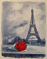 «Букет для парижанки» картина маслом