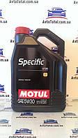 Масло моторное MOTUL SPECIFIC 0720 5W30, 5 л