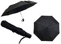 Зонт мужской полуавтомат черный Feeling Rain 303