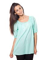 Изысканная женская блузка с вышивкой
