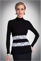 0f769651171 Блузка черная с длинным рукавом в Лисичанске. Сравнить цены