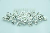 Садебная тема -гребни для невест. Свадебные аксессуары оптом недорого. 251