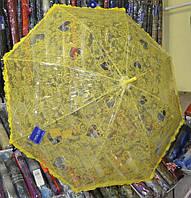Зонт женский полуавтомат прозрачный Feeling Rain 101w