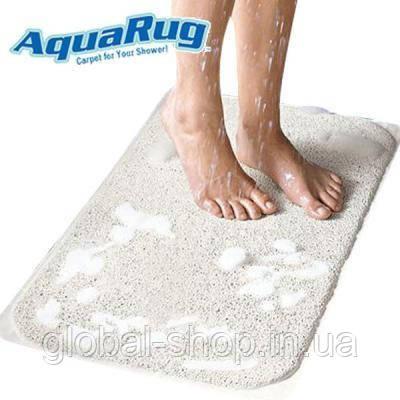 Противоскользящий коврик для ванной AquaRug