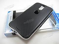 Чехол IPAKY Motorola Moto G4 / Moto G4 Plus (серебристая рамка), фото 1