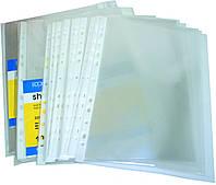 """Файл для документів А4+ Economix, 40 мкм, фактура """"глянець"""" (100 шт/уп)"""