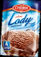 Порошок для приготування морозива з шоколадним смаком Lody domowe Cykoria, 60 г