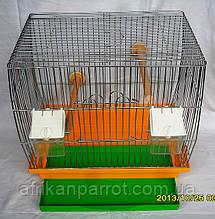 Клетка для канареек цинк (Кенар)33*23*31см