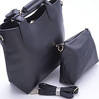 Эксклюзивная женская сумка из PU кожи. Женская сумка 2в1. Высокое качество. Деловой стиль. Купить. Код: КДН489