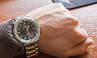 """Мужские механические наручные часы """"Рекорд Стандарт"""" с автоподзаводом, 23 камня. Производство Россия., фото 1"""