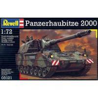 Сборная модель Revell Бронированая гаубица Panzerhaubitze PzH 2000 1:72 (3121)