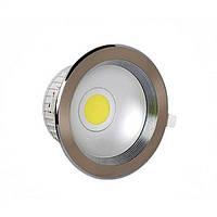 """Светодиодный светильник встраиваемый LED """"HELEN-10"""" Horoz 10W (4200K), фото 1"""