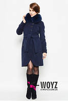 Зимнее пальто с натуральным воротником с 42-48размер