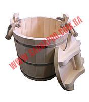 Запарник с крышкой (липа) 25 литров
