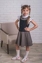 Школьный костюм - жилет+юбка   на 128-152 рост, фото 2