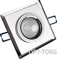 Lemanso Светильник точечный Lemanso Спот ST126 прозрачный-хром G5.3
