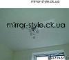 Глянцевый натяжной потолок на кухне одной из квартир города Черкассы