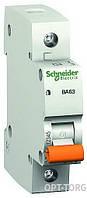 Schneider Electric Автоматический выключатель SCHNEIDER ВА63 1п 6A  C #11201
