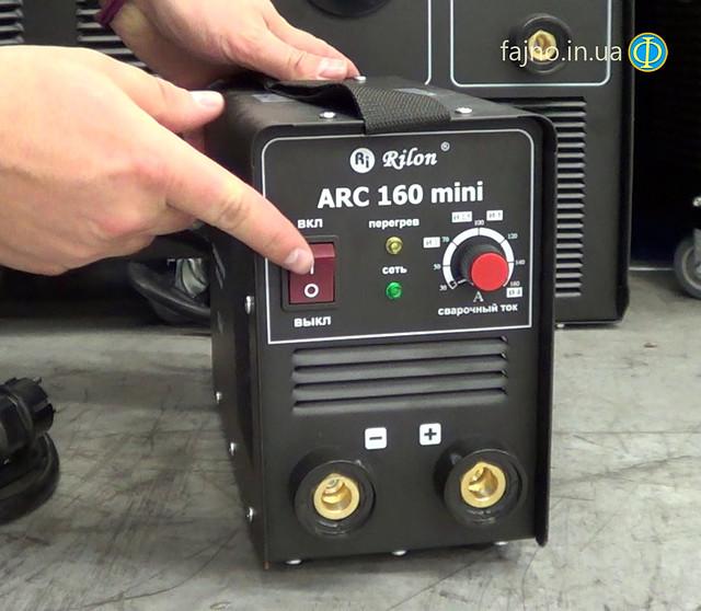 Инверторная сварка Rilon ARC 160 mini